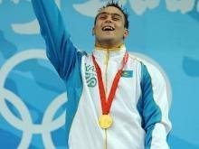 Olympic Kazakhstani weightlifting champion Ilya Ilin