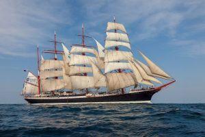 MSTU's Tall-ship 'Sedov'