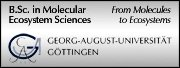BSc in Molecular Ecosystem Sciences, Georg-August-University of Goettingen